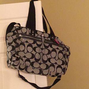 Coach Diaper Bag or Brief case